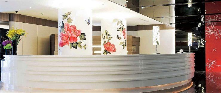 レセプション シーザー パーク ホテル タイペイ/イメージ