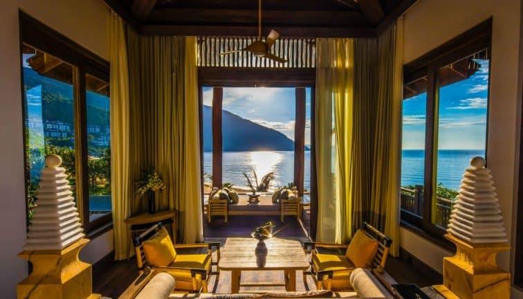 インターコンチネンタルサンペニンシュラリゾートの客室から見える景色