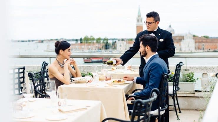 テラスレストラン ホテル ダニエリ ア ラグジュアリー コレクション ホテル