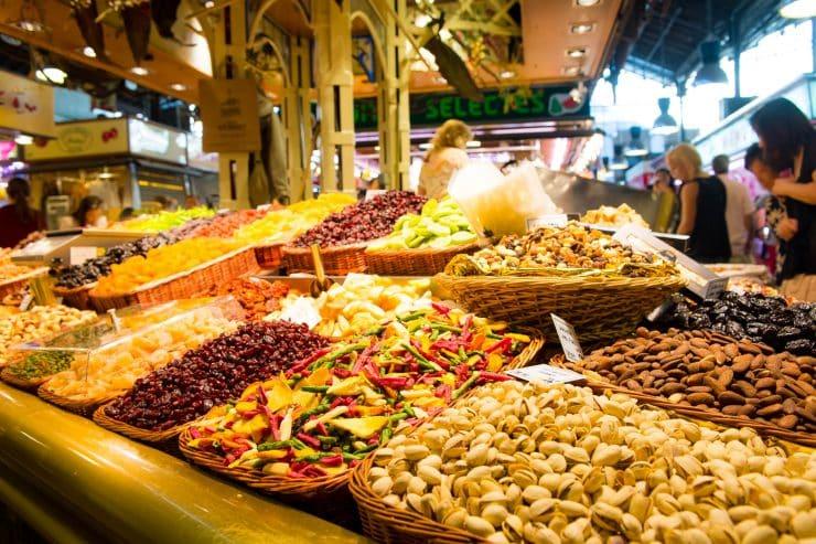サン・ジョセップ市場(通称ボケリア市場)