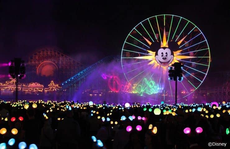 ディズニー・カリフォルニア・アドベンチャー・パークのショー「ワールド・オブ・カラー」