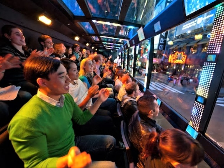 NYで大人気!新感覚観光バス「THE RIDE」値下げキャンペーン実施中!
