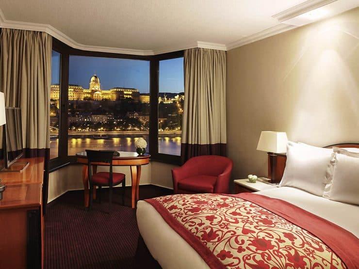 Sofitel Budapest room