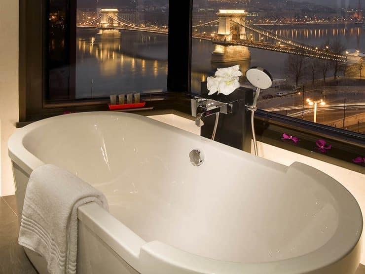 Sofitel Budapest bath