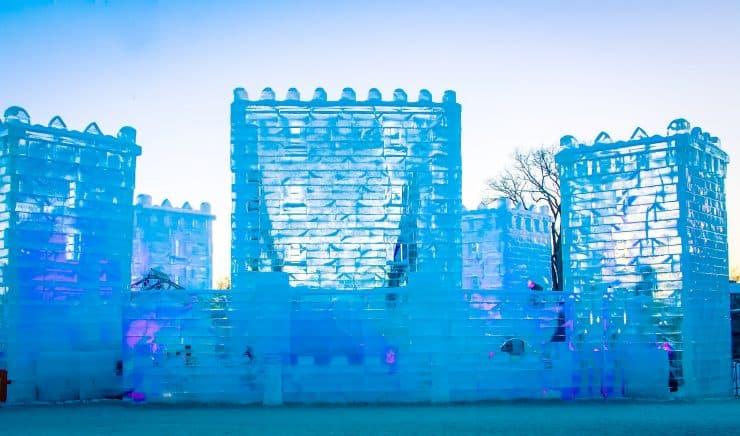 ice castle quebec