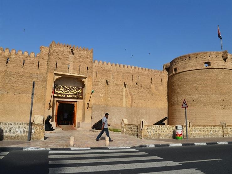 ドバイ博物館/ドバイ最古の建造物であるアル・ファヒディ砦を改装