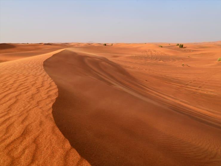 ドバイアラビアン/自然が造り出した神秘的な砂のアート
