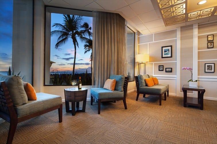 目の前にはワイキキビーチ モアナ サーフライダー ウェスティン リゾート & スパ