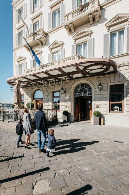 フィレンツェ ホテル セントレジス