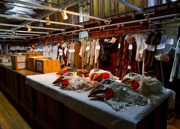 ガルニエ宮内衣装室の様子