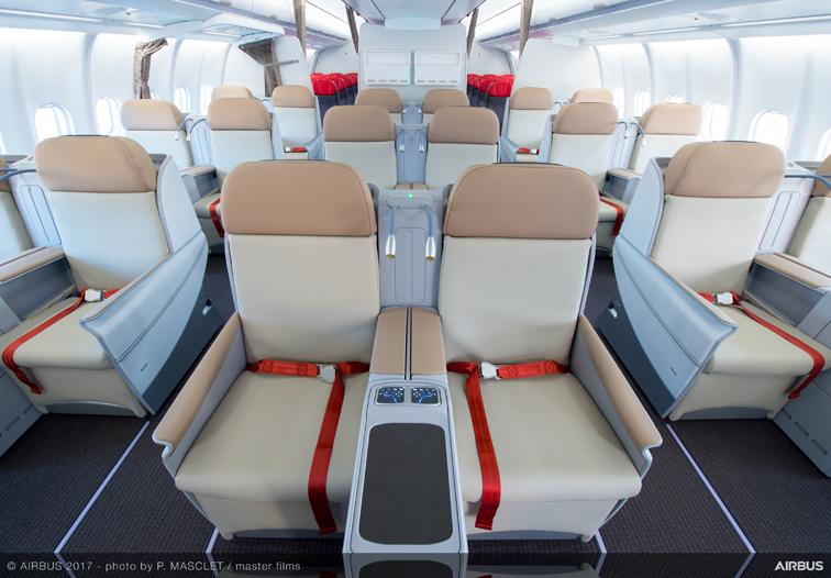 まるでビジネスクラスのようなタイライオンエアのプレミアムエコノミー(エアバスA330-300型機)
