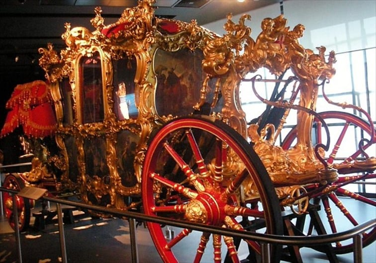 ロード・メイヤーズ・ショーで名誉市長が乗る馬車
