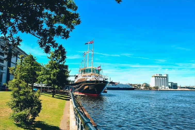 イギリス王室が外遊する際に使用していた「ロイヤル・ヨット・ブリタニア号」