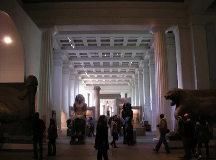 古代メソポタミアなど充実の常設展示