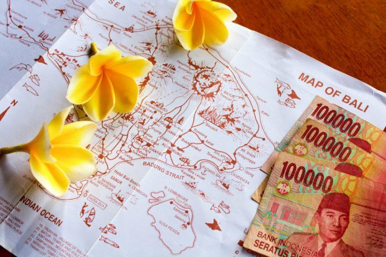 バリ島 マップ お金