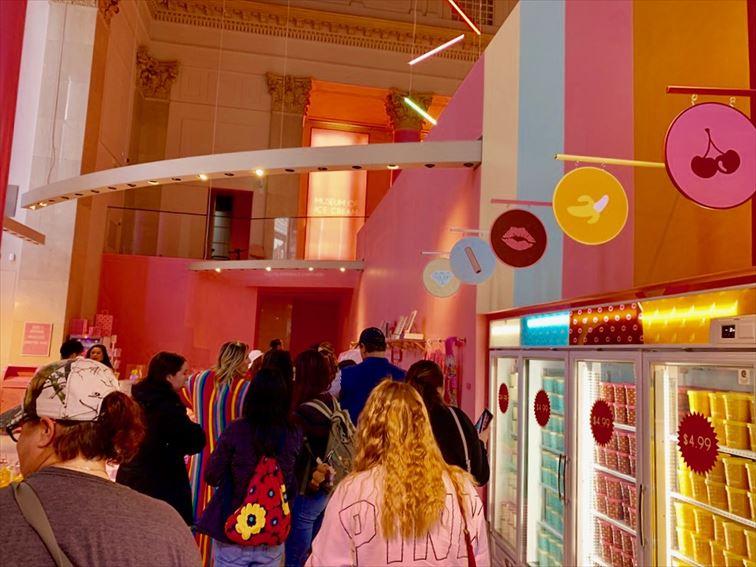 2月にオープンしたばかりの3D イリュージョンミュージアム