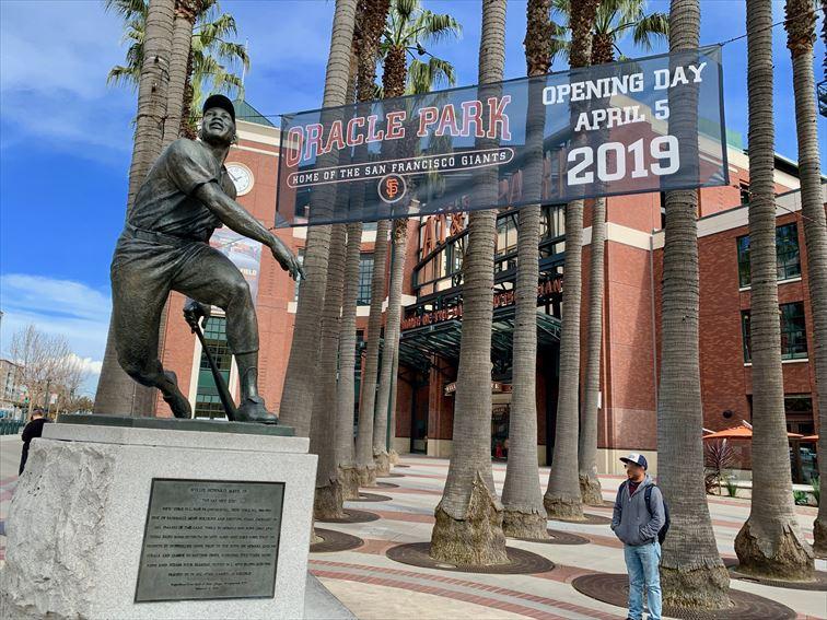 大リーグ・サンフランシスコジャイアンツの本拠地は2019年開幕から名前が「オラクルパーク(Oracle Park)」に変わります。 ホームオープニングゲームは、4月5日タンパベイ・レイズ戦です。