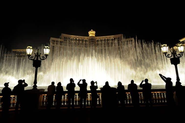 ベラージオホテル噴水ショー