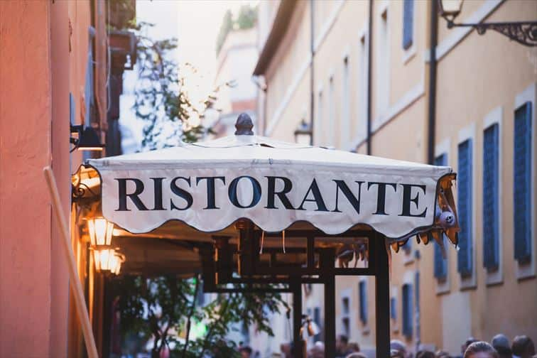 ちょっと贅沢して食事をするならリストランテで