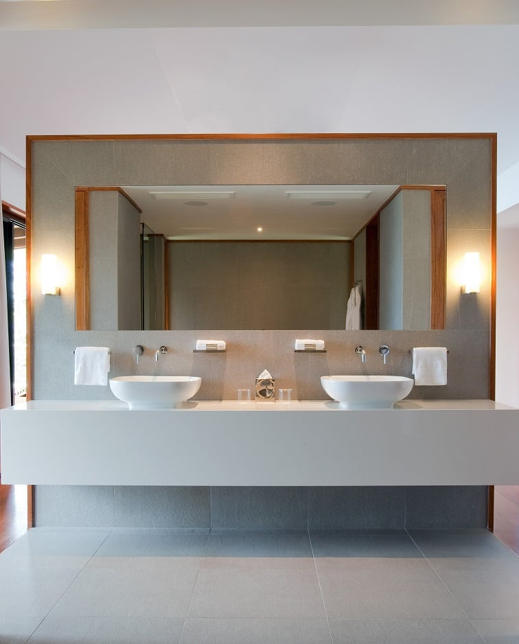 クオリア・リーワードのバスルーム