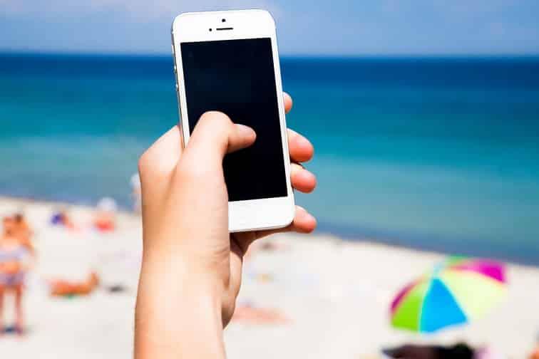 ビーチ・Wi-Fi/イメージ