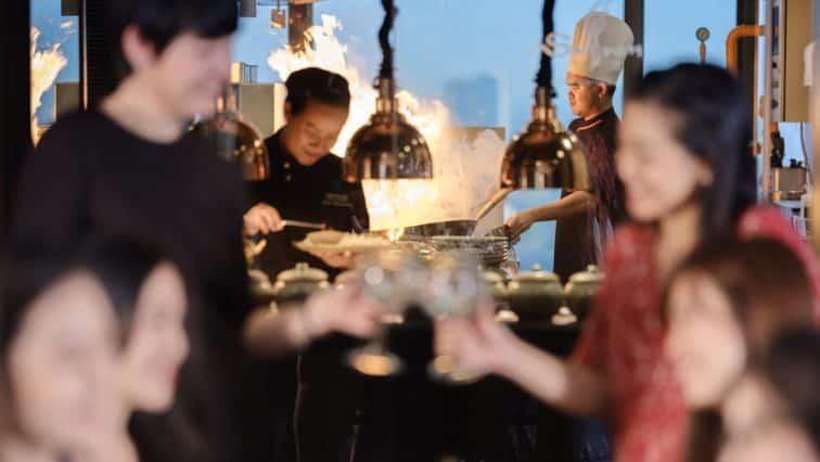 バンヤンツリーのサフロンレストラン