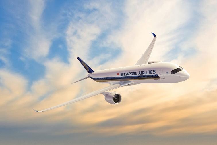 シンガポール航空A350