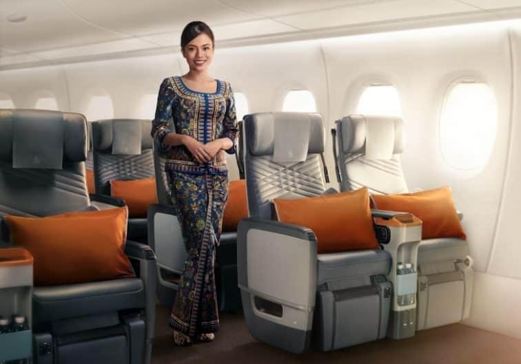 シンガポール航空のキャビンアテンダント
