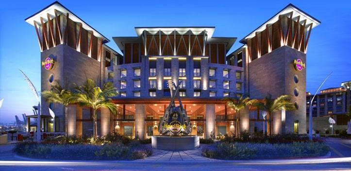 セントーサ島のハードロックホテル