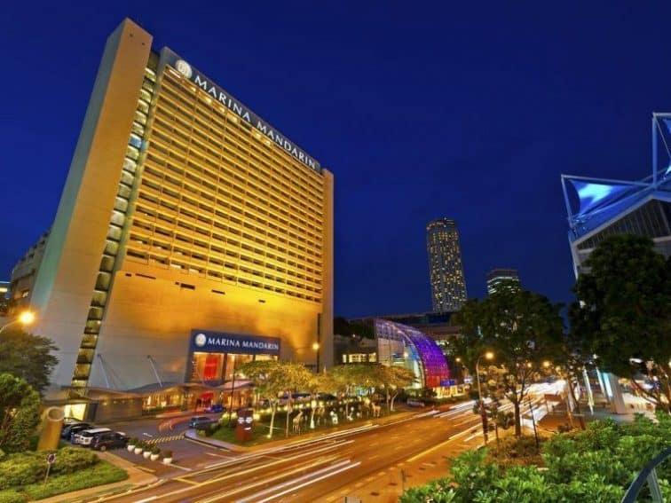 シンガポールの5つ星ホテル「マリーナマンダリン」
