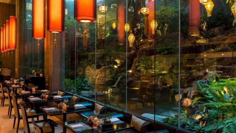 バンヤンツリーバンコクのロムサイレストラン