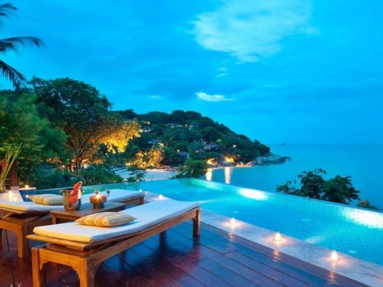 サムイ島のトンサイベイリゾートのプールヴィラ