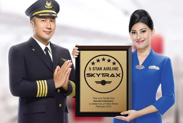 世界最高峰の航空会社の証「5スター・エアライン」