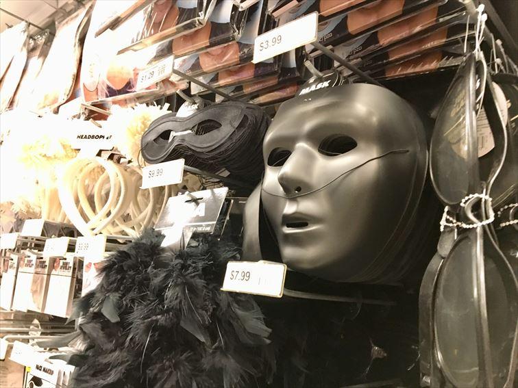 ハロウィンの仮装グッズ