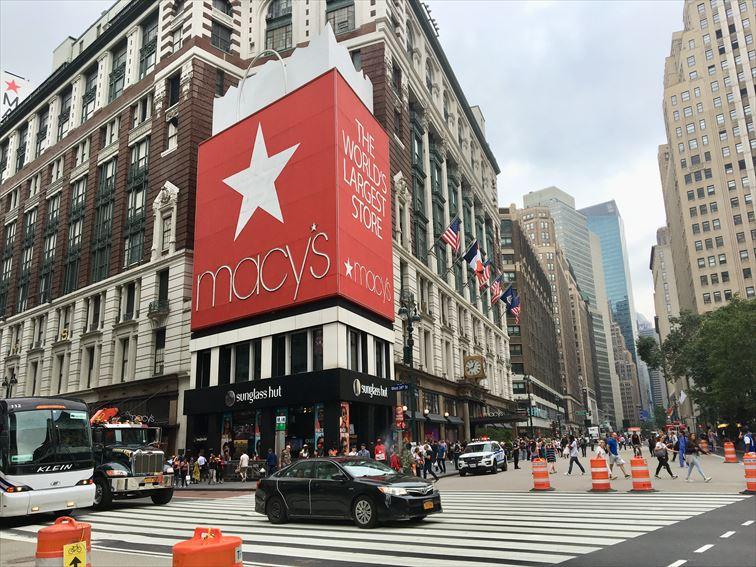 ニューヨーク最大のデパート「メイシーズ」