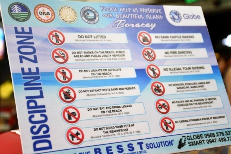 boracay 12 rules