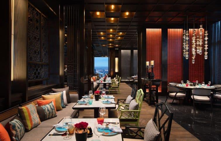 マリオットホテルザスリウォンの中華料理店「YAO」