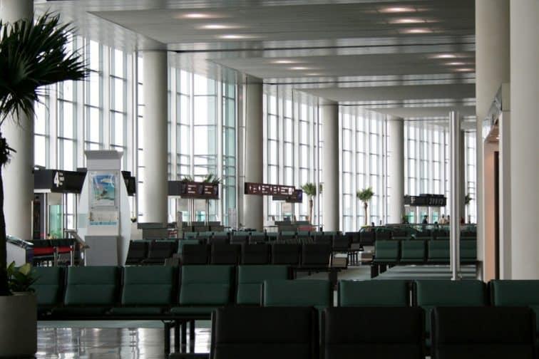 マカオ空港の搭乗ゲート