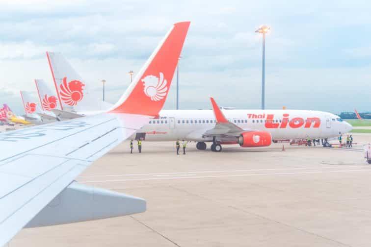 タイライオンエアの旅客機