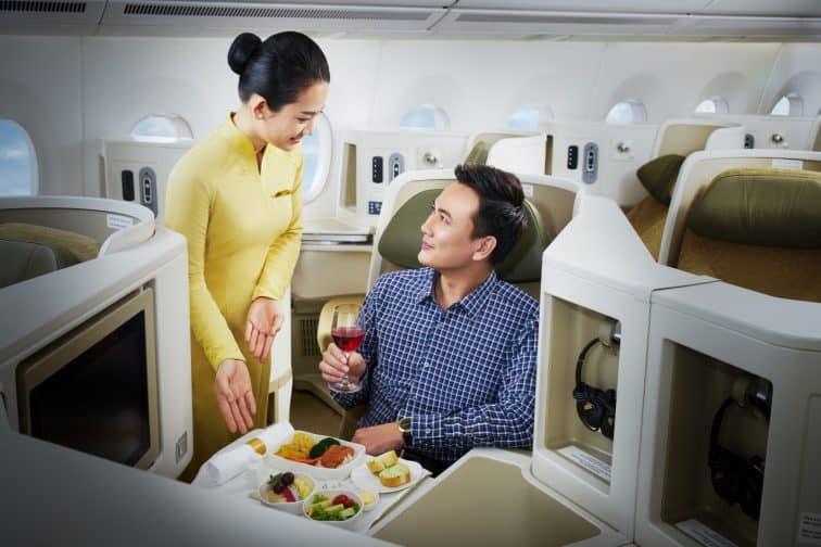 ベトナム航空ビジネスクラスのサービス