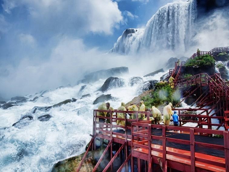 ナイアガラの滝・ブライダルベール滝