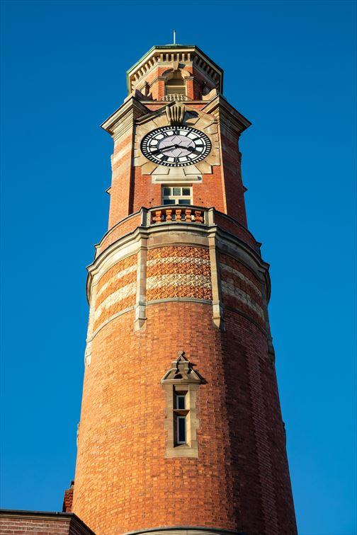 街のシンボル的存在の時計台