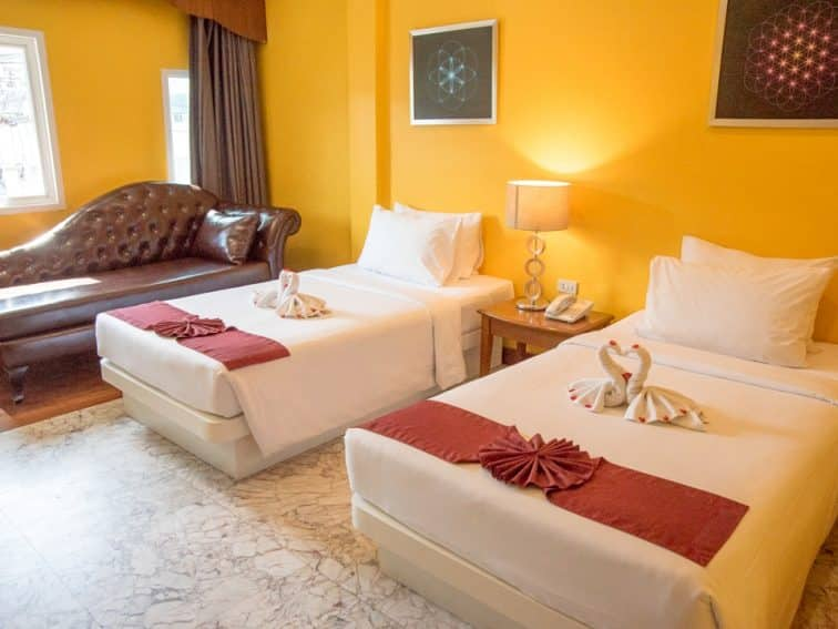 バウマンブリホテルのスーペリアルーム