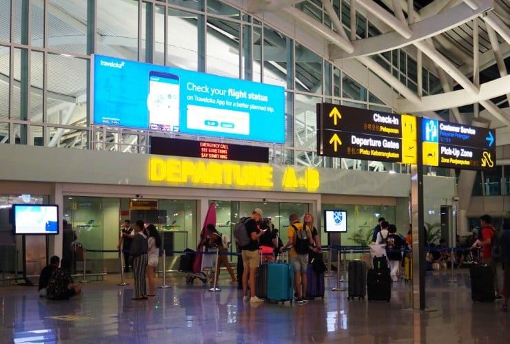 バリ島 ングラライ空港