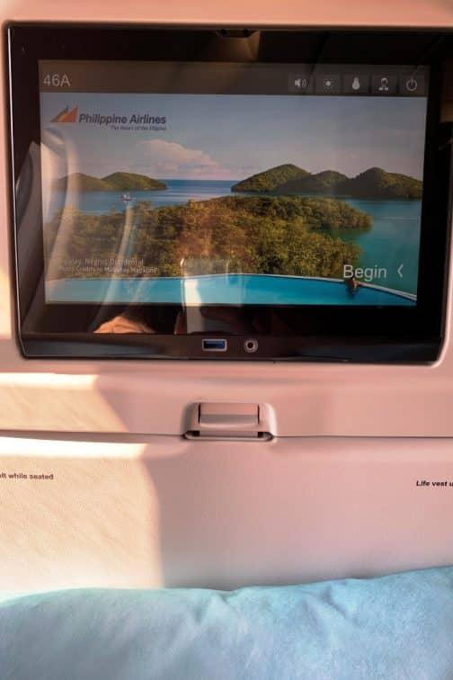 A321neo エコノミークラス モニター (2)