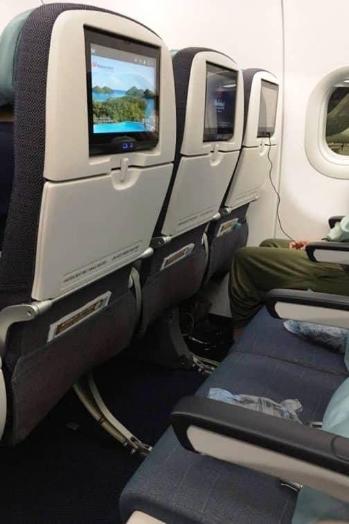 A321neo エコノミークラス
