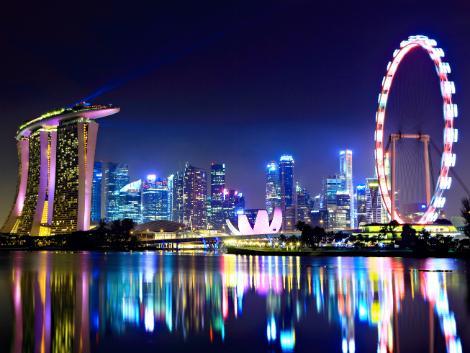 夜景 シンガポール ツアー用