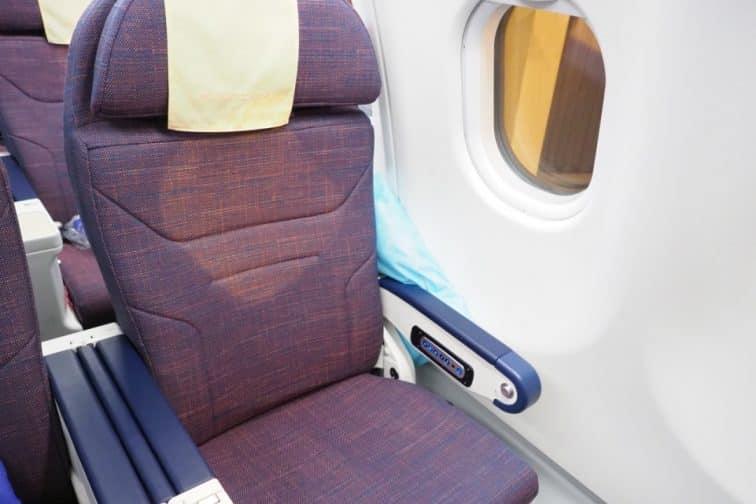 A330 フィリピン航空 機材 エコノミークラス 座席