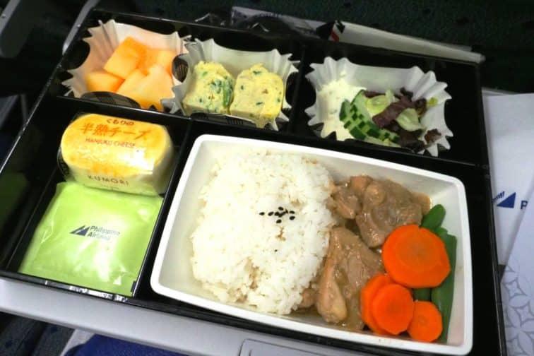 フィリピン航空 機内食 A330