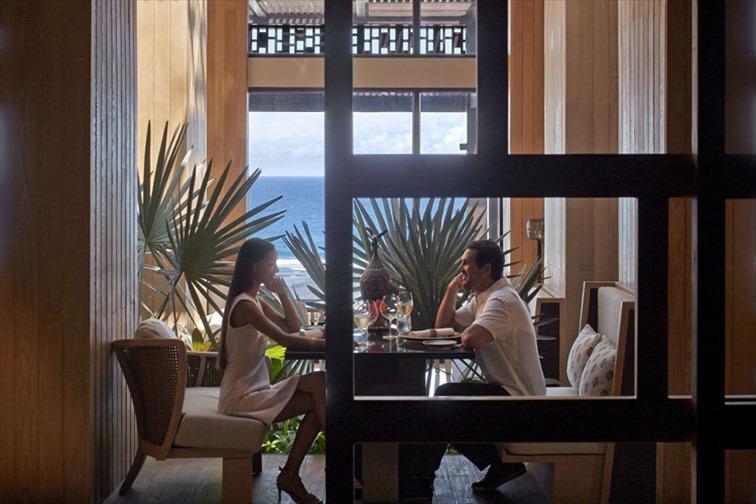 ザ リッツカールトン バリのレストラン「ブジャナ」